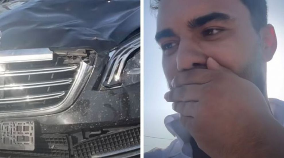 """Jador a făcut accident cu bolidul de lux, după ce i-a sărit un cal în fața mașinii. """"Am văzut moartea cu ochii"""""""