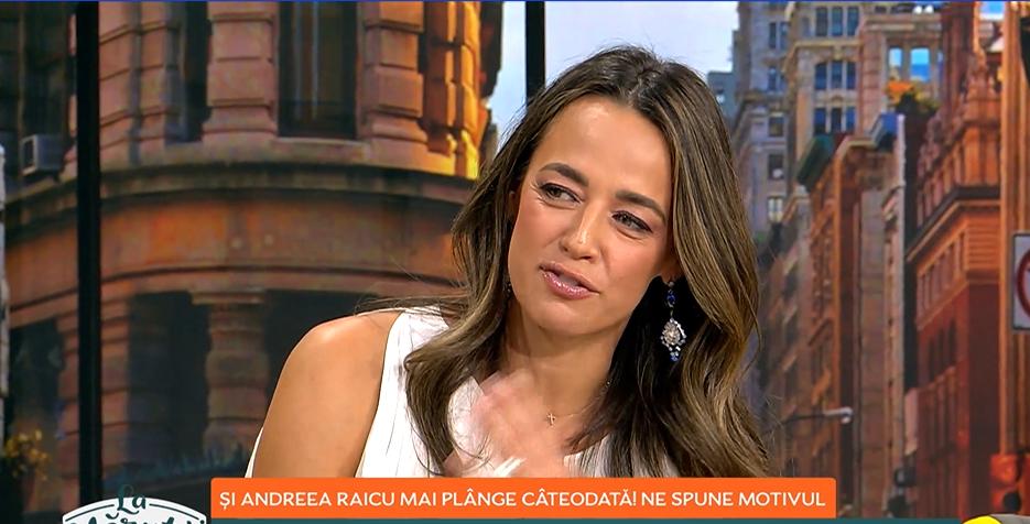"""Andreea Raicu, cu lacrimi în ochi, despre cel mai mare regret al vieții ei: """"Nu i-am spus niciodată că-l iubesc"""""""