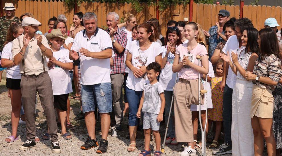 """VIDEO Momentul mult așteptat de Simona și familia ei. """"Mută autocarul"""". Cum arată noua lor casă"""