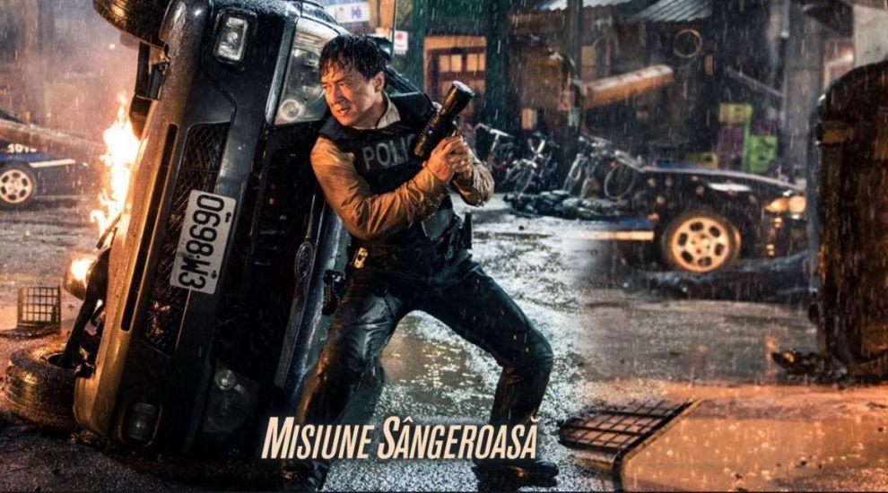 """Jackie Chan joacă rolul unui agent special de poliție în filmul """"Misiune Sângeroasă"""", disponibil acum pe VOYO!"""