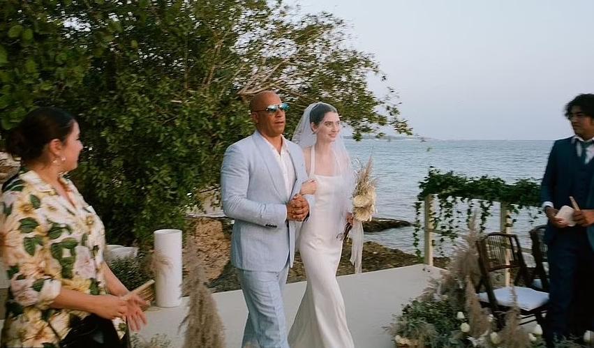 Fiica lui Paul Walker, Meadow, s-a căsătorit și a fost condusă la altar de Vin Diesel. Imagini emoționante de la nuntă
