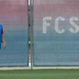 """Primele imagini cu Alexandru Stan in tricoul FCSB-ului: """"Tata e rapidist, plangea cand i-am spus!"""" Nedelcu este noul ROBOCOP al echipei FOTO"""
