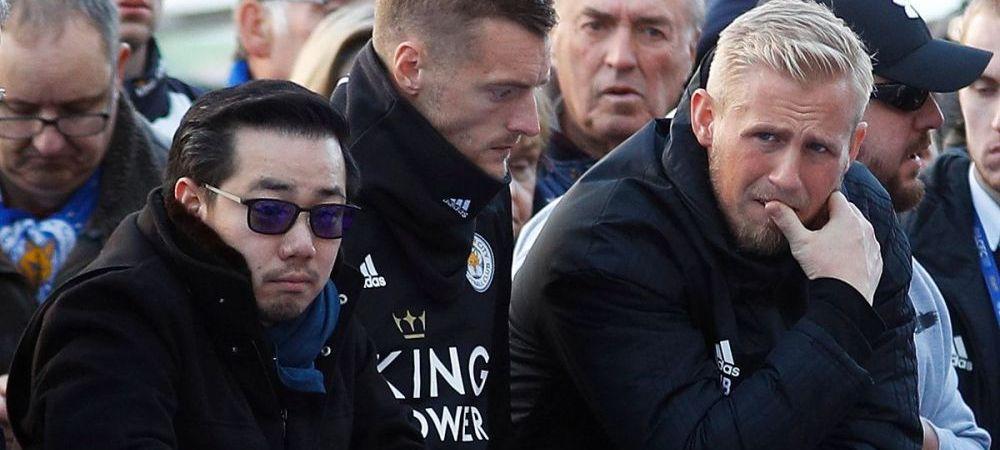 Schmeichel a incercat sa-si SALVEZE patronul dupa explozie! Scene nebune cu portarul danez dupa accidentul de la Leicester