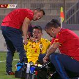 MALTA - ROMANIA | Accidentare HORROR pentru un jucator al nationalei! A fost scos in lacrimi de pe teren si risca sa rateze EURO de tineret