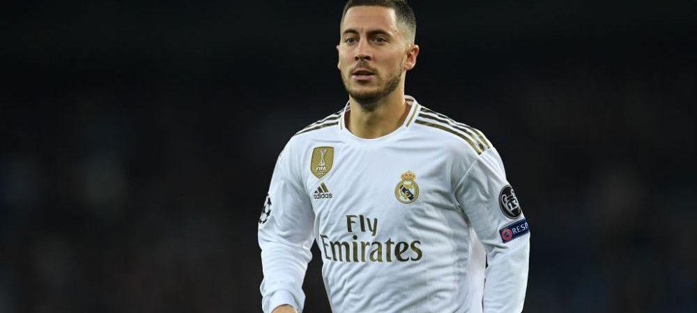 Hazard, OUT de la Euro 2020?! Medicii au doua variante pentru starul lui Real Madrid, insa niciuna nu este pe placul lui Zidane