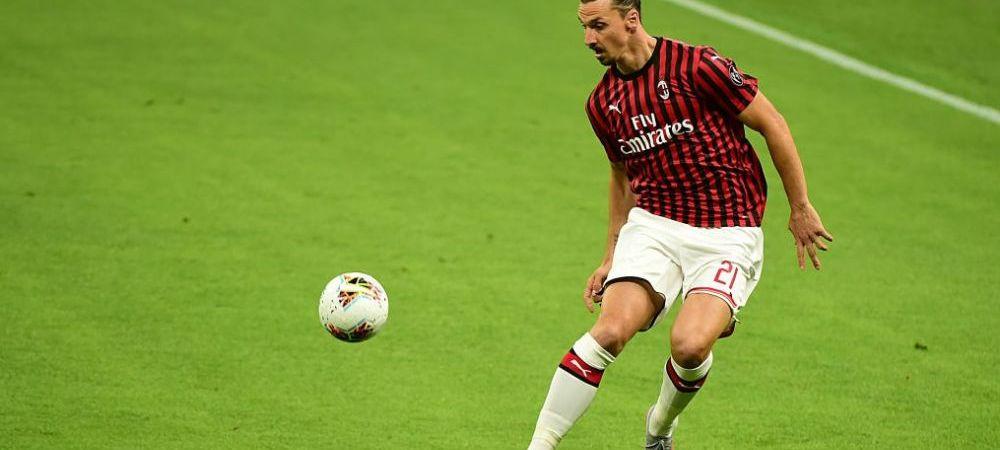 """Ibrahimovic, cu gandul la retragere! """"Nu sunt un jucator de Europa League!"""" Cum comenteaza suedezul situatia de la AC Milan"""