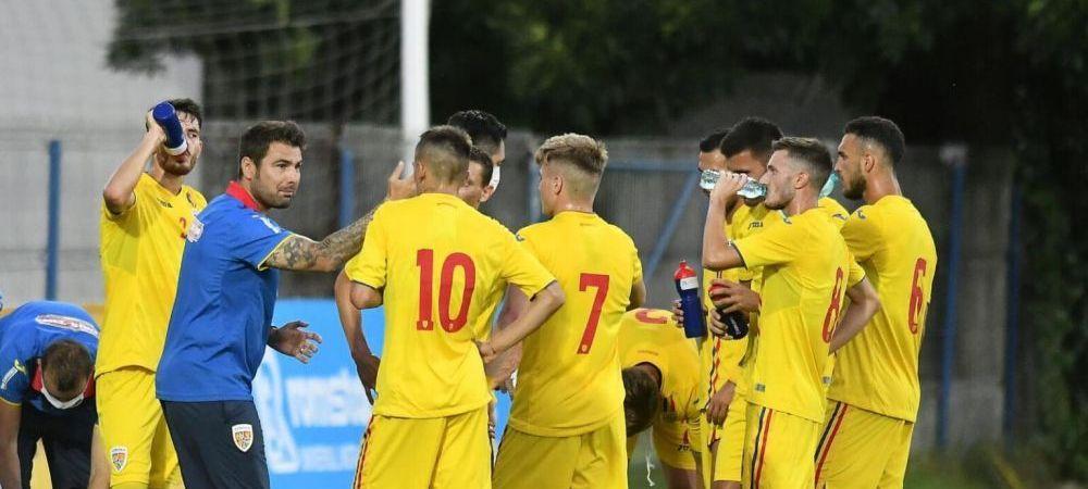 Romania U21 6-0 Farul Constanta  SHOW TOTAL pentru 'tricolorii mici' la debutul lui Mutu pe banca nationalei de tineret!