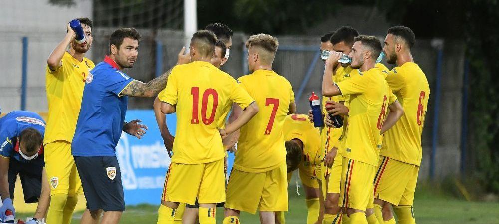 VIDEO: Romania U21 6-0 Farul la debutul lui Mutu pe banca nationalei! AICI GOLURILE