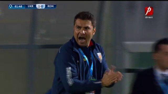 UCRAINA U21 1-0 Romania U21 | 24 de ore de PLANS pentru Romania! Mutu, batut dintr-un penalty INVENTAT in Ucraina! Pascanu a avut BARA. AICI sunt toate fazele