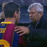 """""""Messi, te rog!"""" Lucescu s-a dus imediat dupa starul Barcelonei la finalul meciului! Ce a facut in fata lui"""