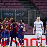 Barcelona 2-1 Dinamo Kiev   Barcelona s-a chinuit cu echipa 'improvizata' a lui Mircea Lucescu!  Juve, victorie fara probleme cu Ferencvaros