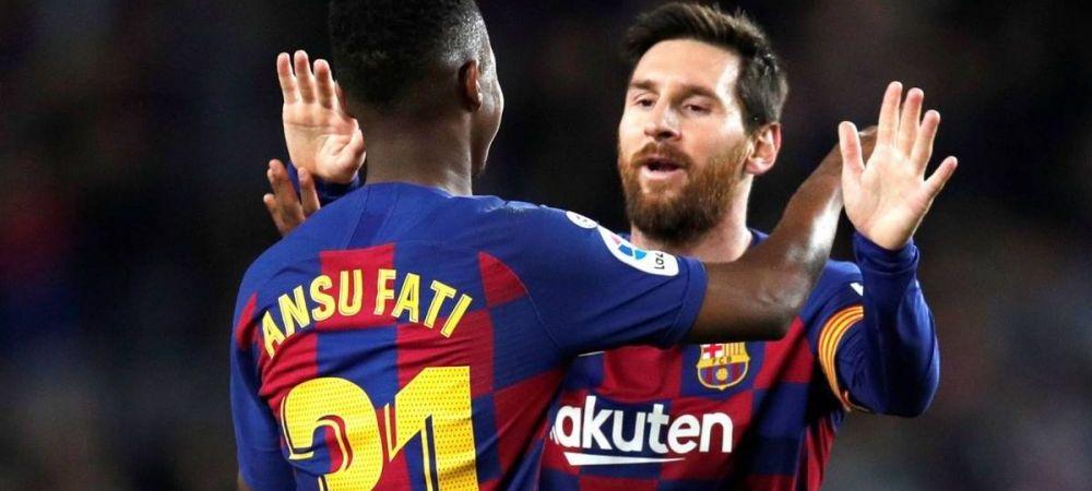 Ghinionul teribil pentru Barcelona! S-a aflat oficial cat va fi accidentat Ansu Fati!