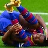 Primele detalii despre starea lui Ansu Fati dupa operatia la genunchi! Cat va lipsi tanarul star de pe Camp Nou