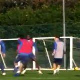"Videoclipul care i-a innebunit pe fanii lui Arsenal! Cirjan a facut SPECTACOL la ultimul antrenament al echipei mari! ""In primul 11 cu el! In locul lui Willian!"""