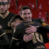 BIJUTERIE! Furtuna MESSI DISTRUGE TOT! Doua goluri SUPERBE cu Granada! Un jucator s-a CULCAT in spatele zidului, dar Messi a gasit un culoar INVIZIBIL