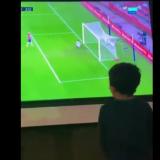 Copiii lui Messi, reactie FANTASTICA dupa ce au vazut golul superb marcat de tatal lor cu Granada! Clipul care face inconjurul lumii