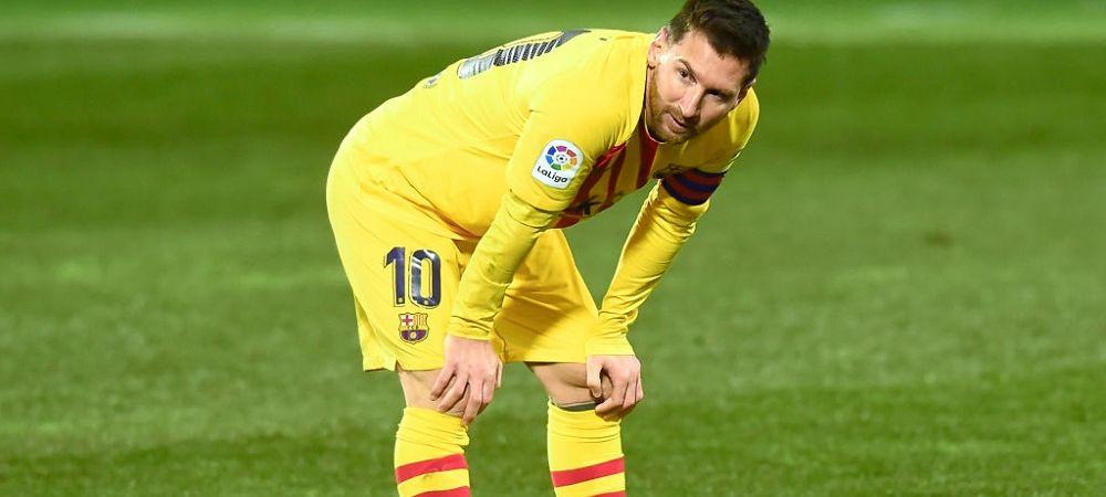 """Primul club care poate iesi din cursa pentru transferul lui Messi! """"Financiar le-ar fi IMPOSIBIL sa faca asta"""""""