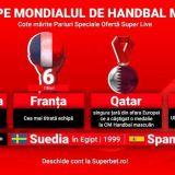 """(P) Națiunile cu cele mai mari șanse să ajungă în """"sferturile"""" Campionatului Mondial de Handbal, la startul grupelor principale"""
