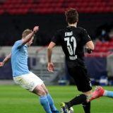 Portarul nici nu a vazut mingea! RACHETA cu care De Bruyne a deschis scorul la Budapesta l-a lasat MUT si pe Guardiola