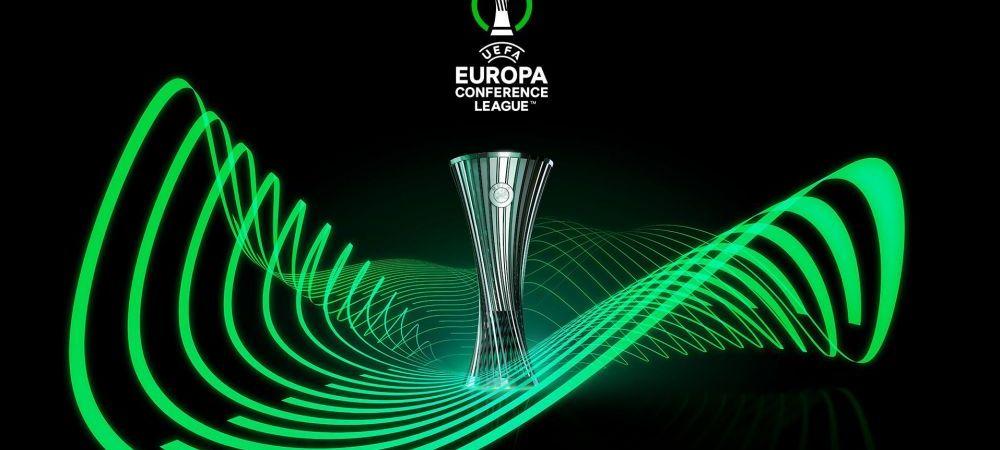 UEFA a prezentat trofeul Conference League! Cum va arata cupa pentru noua competitie