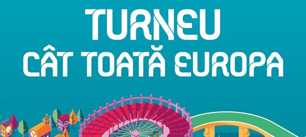 Programul complet al meciurilor de la EURO 2020: cand se joaca partidele si unde pot fi urmarite