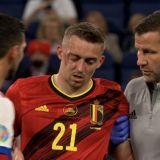 """Lovitura primita de Belgia! Castagne a suferit o """"dubla fractura orbitala"""" si nu va mai juca la Euro"""