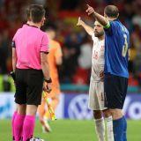 """""""Mincinosule!"""" Faza care face inconjurul lumii! Chiellini si Jordi Alba au facut spectacol inainte de loviturile de departajare"""