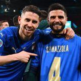 Gest superb al lui Lorenzo Insigne dupa calificarea Italiei! Extrema de la Napoli a sarbatorit cu tricoul lui Spinazzola pe el