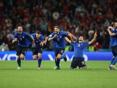 Italia, prima finalista de la Euro 2020! Jorginho si-a calificat echipa la loviturile de departajare! Morata a ratat decisiv