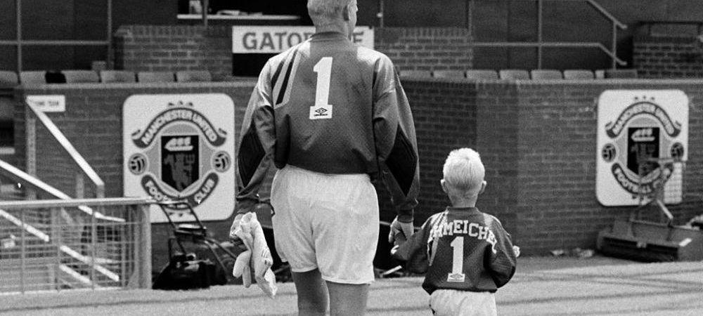 Peter Schmeichel, incurajare emotionanta pentru nationala Danemarcei si pentru fiul sau! Fotografie postata de legendarul portar pe social media